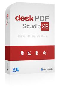 DeskPDF Studio XE